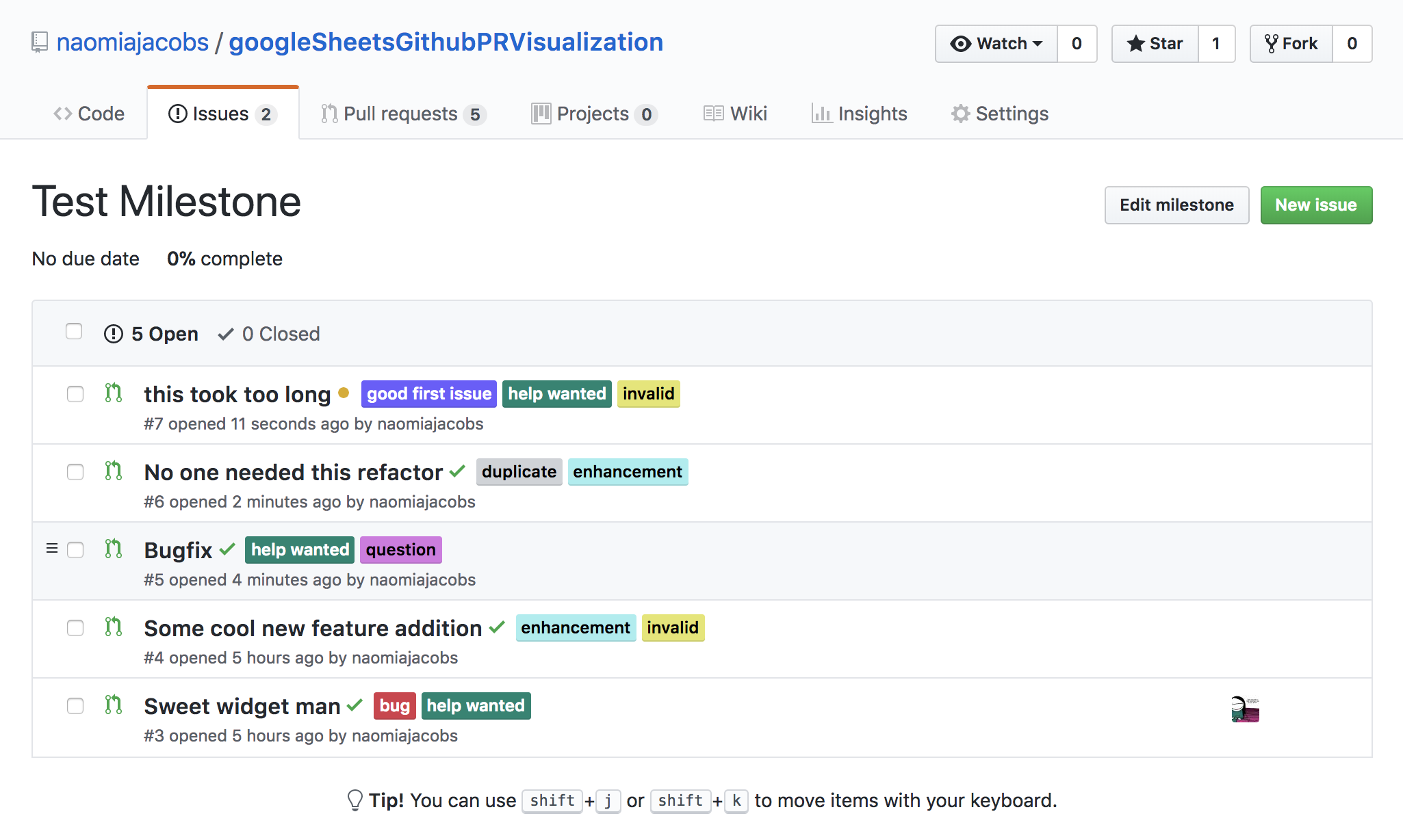 Visualizing Pull Request Dependencies with Google Sheets and